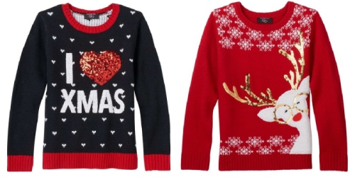 Kohl's: Ugly Christmas Sweaters As Low As $7.99 (Regularly $40)