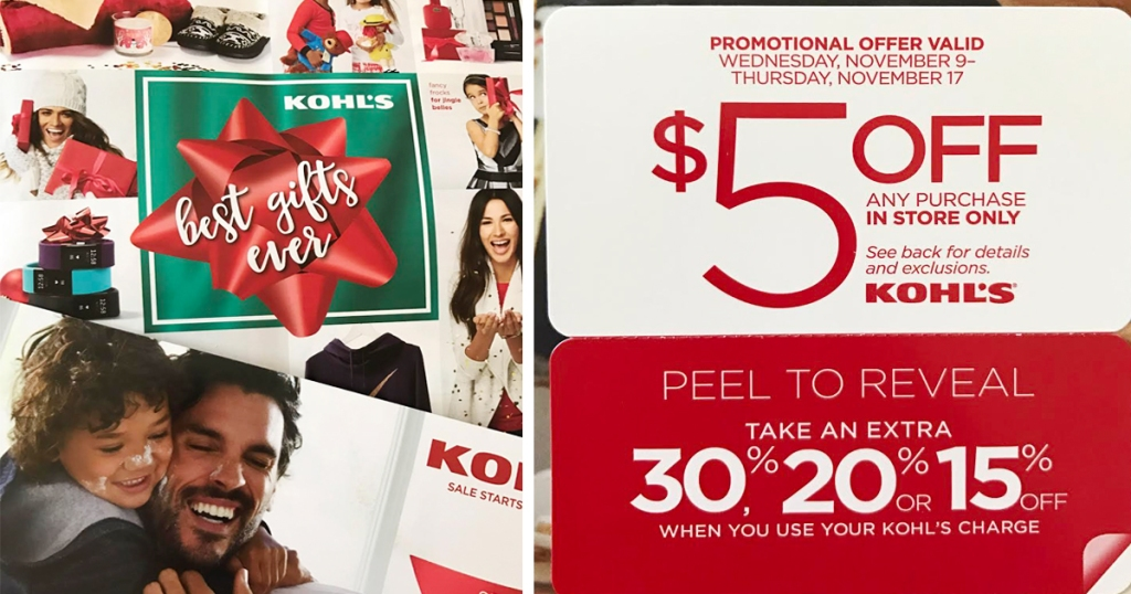 b8423db563d0 Check your mailbox for a possible new Kohl s mailer with a coupon valid for   5 off ANY purchase in-store only from November 9th-November 17th. Please  note ...
