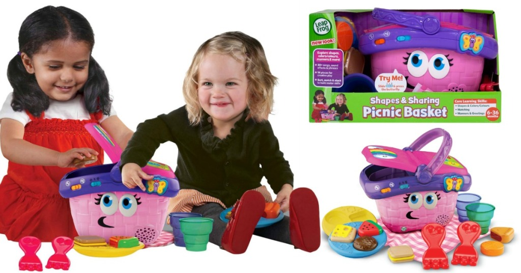 Leapfrog Shapes And Sharing Picnic Basket Only 9 78 Regularly