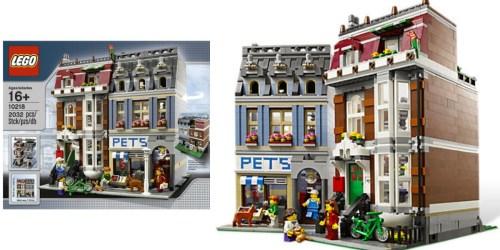 LEGO Creator Pet Shop Set Only $119.99 Shipped (Regularly $149.99) + Free Snowglobe Set