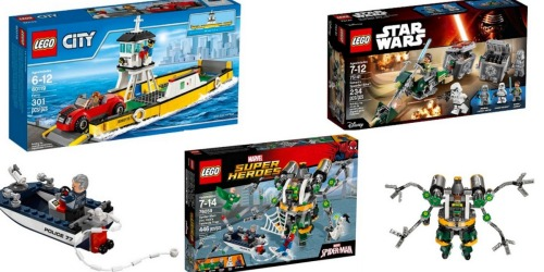 Target.com: Save BIG on LEGO City, Creator Star Wars, Super Heros & MORE