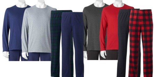 Kohl's: Men's 2-Pack Lounge Pants or Tees Only $8.49 ($4.25 Each)