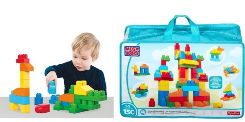Target: Mega Blocks 150-Piece Deluxe Building Bag Only $11.99 Shipped (Regularly $29.99)