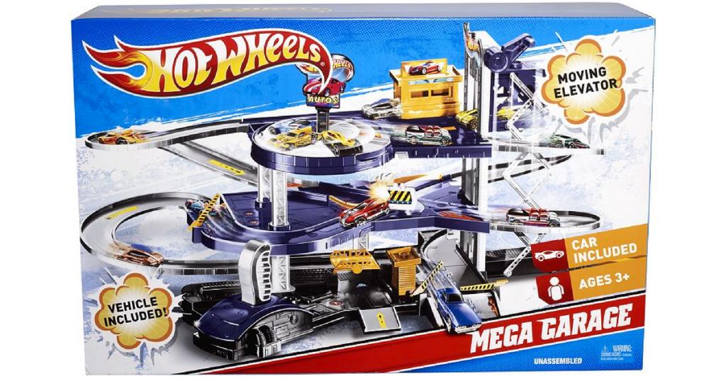 Kohls Hot Wheels Mega Garage Playset Only 2294 Regularly 5499