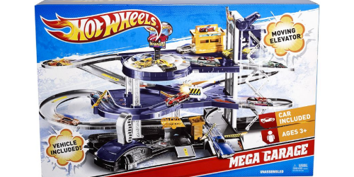 Kohl's: Hot Wheels Mega Garage Playset Only $22.94 (Regularly $54.99)