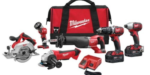 Home Depot: Milwaukee M18 6-Tool Combo Kit Only $399 Shipped (Was $649)