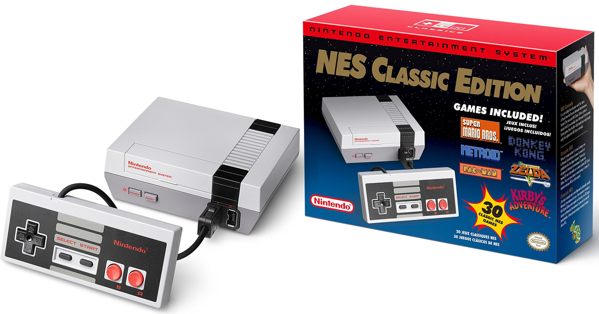 Amazon New Nintendo Nes Classic Edition Gaming System 59 99