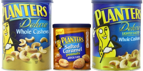 Amazon: Planters Deluxe Whole Cashews 18.25 Ounce Container Only $5.99 Shipped + More
