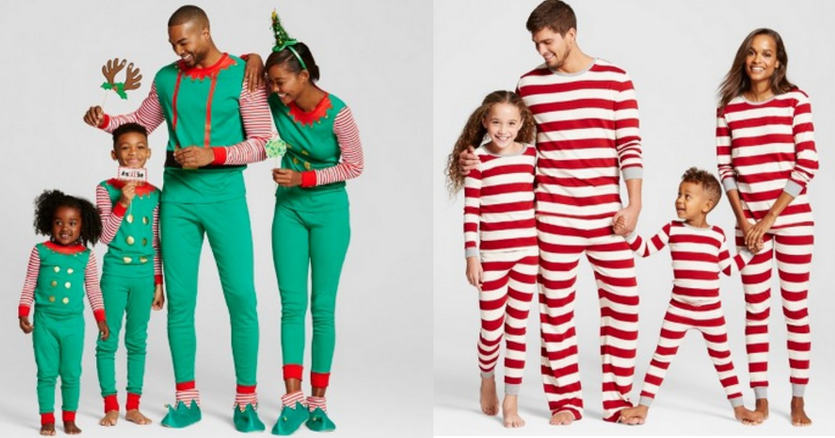 Target.com  Score FOUR Sets of Matching Family Pajamas for UNDER  57 Shipped 2cd0adb95