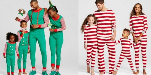 Target.com: Score FOUR Sets of Matching Family Pajamas for UNDER $57 Shipped