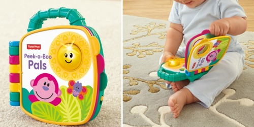 Walmart: Fisher-Price Growing Baby Peek-a-boo! Book ONLY $5.44 (Regularly $9.97)