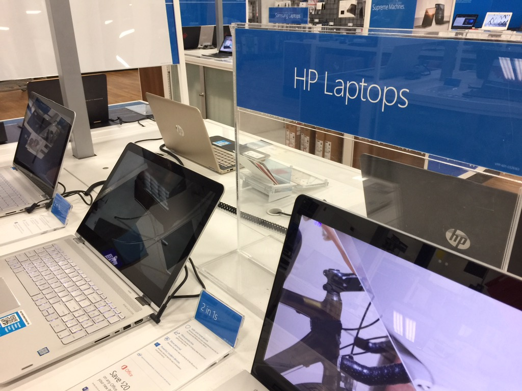 HP laptops at Best Buy