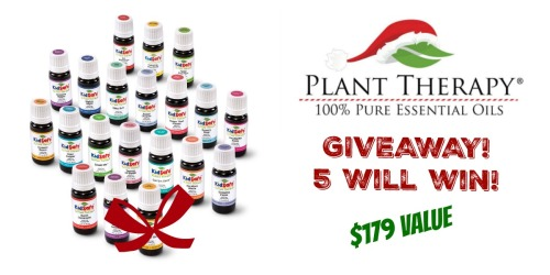 *HOT* Giveaway: 5 Readers Win Plant Therapy Kidsafe Complete Set ($179 Value Per Set)
