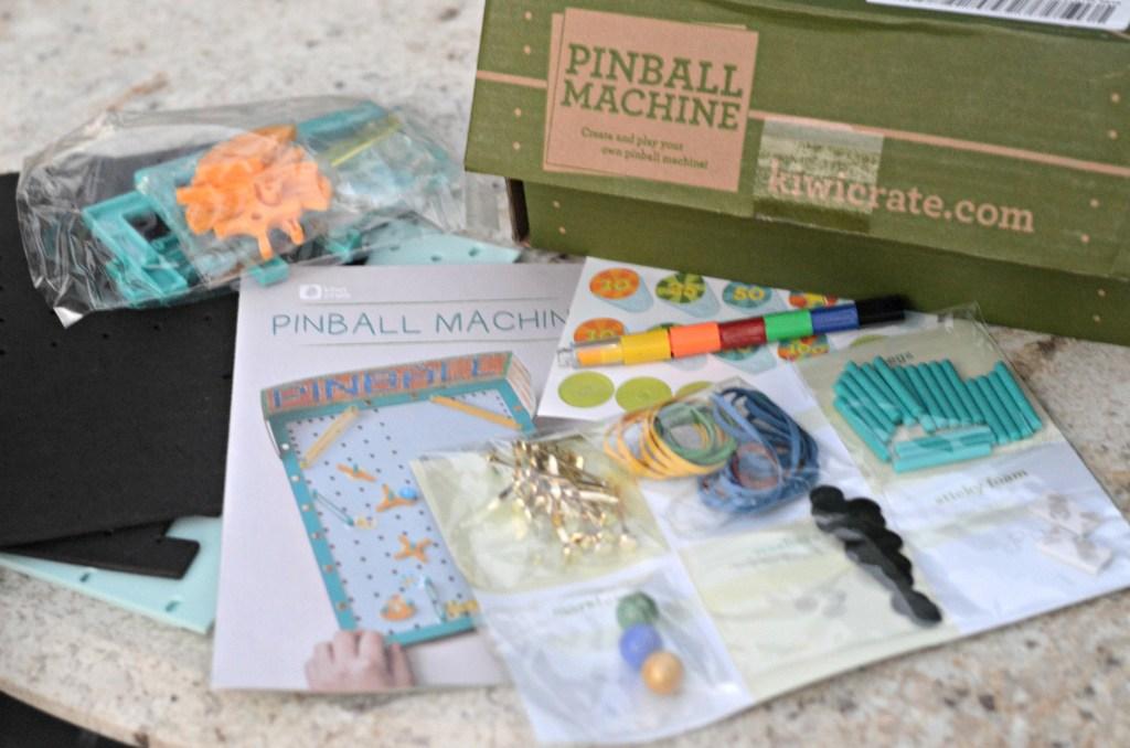 Kiwi Crate Pinball machine box