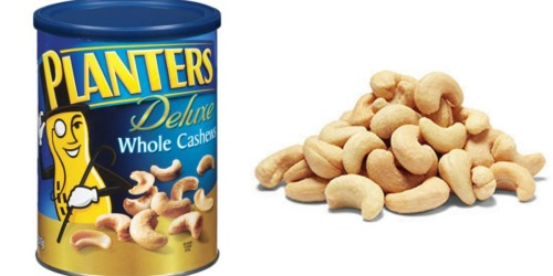 Amazon: Planters Deluxe Cashews 18.25 Ounce Container ONLY $5.99 Shipped