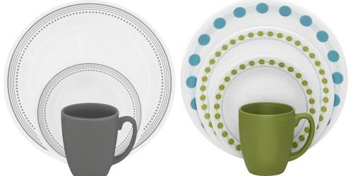 Kmart: Corelle Livingware 16-Piece Dinnerware Set Only $19.99 (Regularly $39.99)