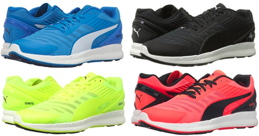8acc73aa8f2fb Amazon: 50% Off Athletic Shoes = PUMA Men's Ignite Running Shoes ...