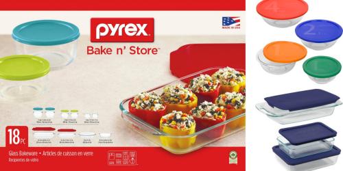 Target.com: DEEP Discounts On Pyrex = 18 Piece Set w/ Lids Only $12.74 Shipped