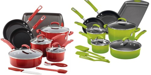 Kohl's: Rachael Ray 14-Piece Cookware Set $73.49 Shipped After Rebate + Earn $15 Kohl's Cash