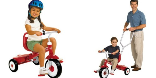 Radio Flyer Kid's Steer & Stroll Trike Only $39.52 Shipped (Best Price)