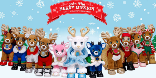 Build-A-Bear: Merry Mission Reindeer Only $17.50 Each When You Buy 2 (Regularly $28 Each)