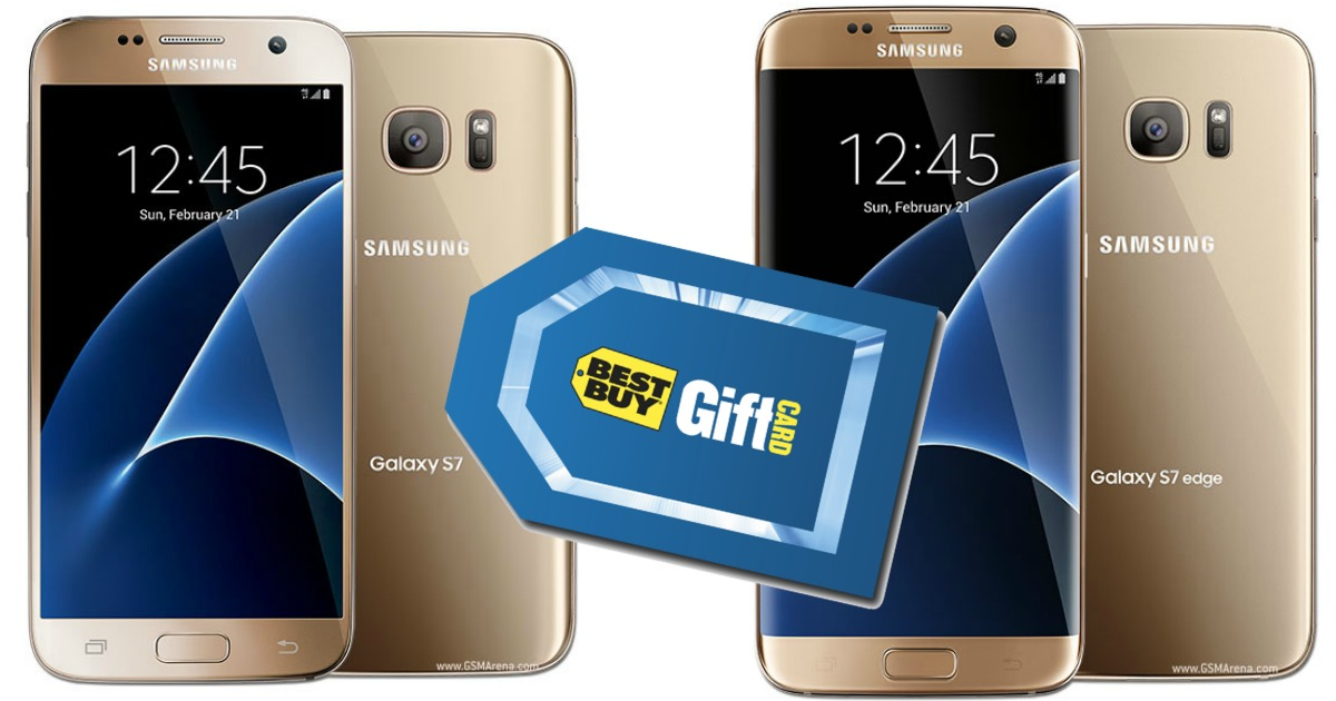 Best Buy Upgrade To A Samsung Galaxy S7 Or S7 Edge And Score Up To A 450 Best Buy Gift Card Hip2save