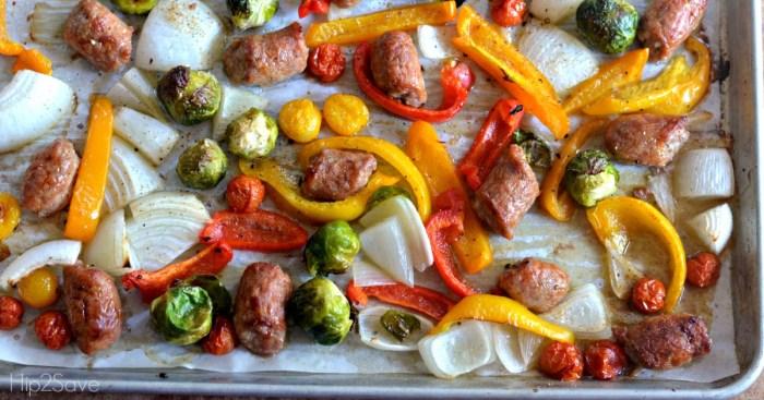 sausage-sheet-pan-meal
