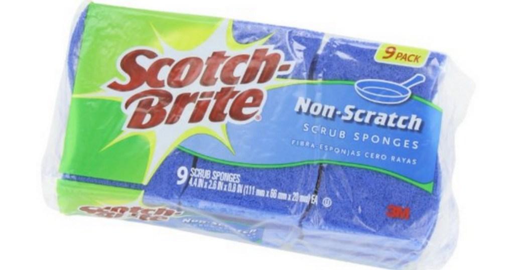 Scotch Brite Non-scratch sponges 9-pack
