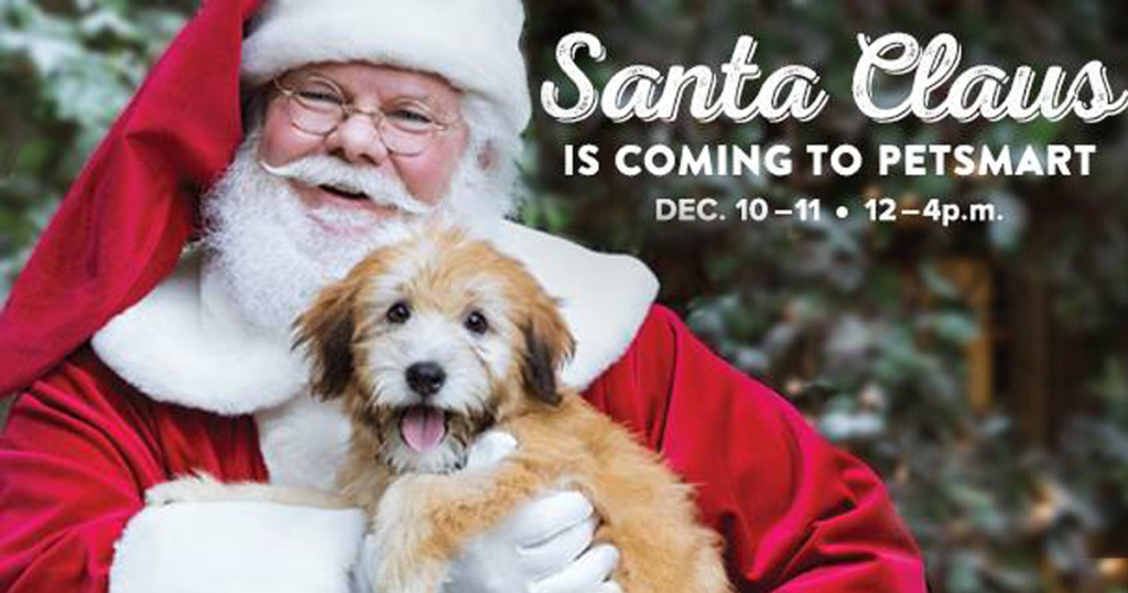 Petsmart Christmas Hours.Petsmart Free Photo Of Your Pet With Santa December 10th