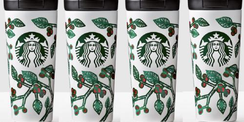 Starbucks Coffee & Tea Refill Tumbler $40 Shipped = FREE Coffee/Tea Everyday in January 2017
