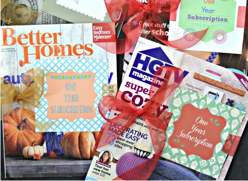 Magazine Gift Tags