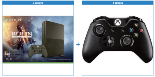 Walmart.com: Xbox One S 1TB Console and Your Choice of Wireless Controller for only $299 shipped!