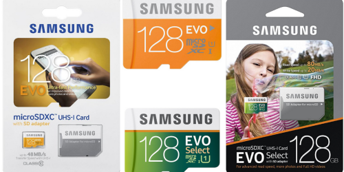 Samsung 128 GB Memory Cards ONLY $24.88 (Regularly $84.99) – Ultra-Fast Performance