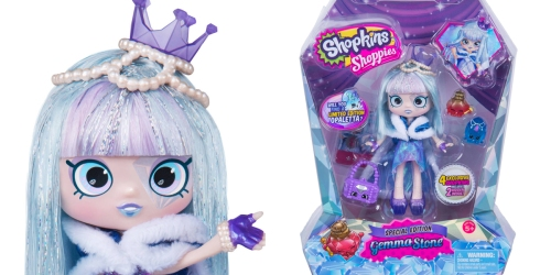 Walmart Exclusive: Shopkins Shoppies Gemma Stone Doll ONLY $20 (Regularly $42)