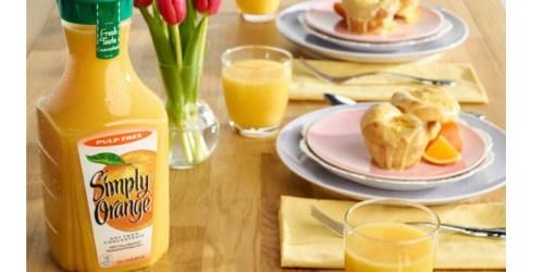 *NEW* $1/1 Simply Orange Juice Coupon