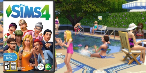 The Sims 4 – PC/Mac ONLY $14.99 Shipped (Regularly $59.99)