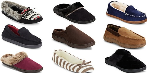 Saks Off 5TH: Men's & Women's Slippers Only $9.99 Shipped (Regularly up to $40)