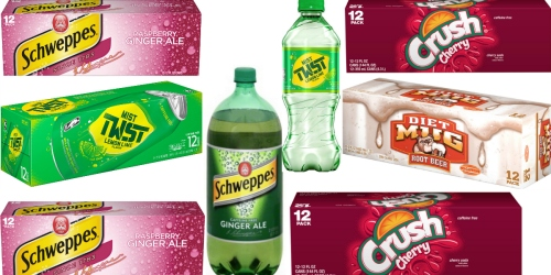 Print $6 Worth of Rare Mist Twist, Schweppes, Amp Energy & Other Soda Coupons