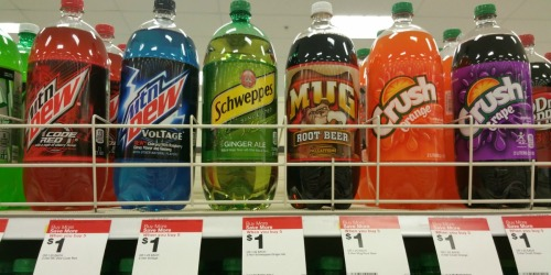 Target: Twist or Schweppes 2-Liter Sodas Only 60¢ Each