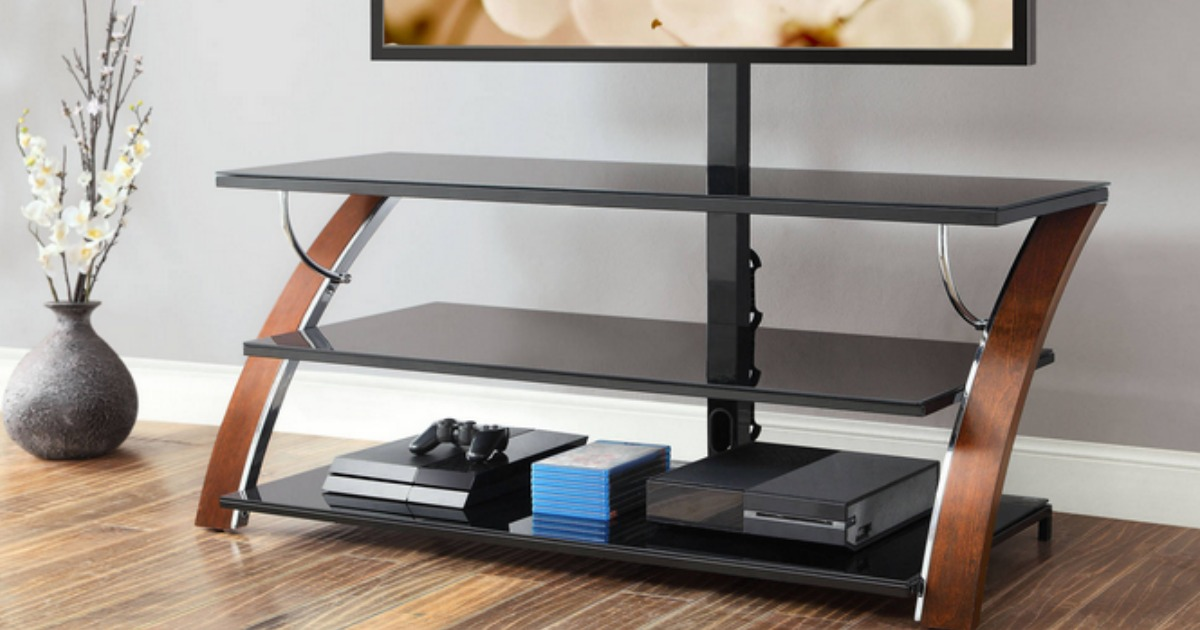 Walmart Whalen 3 In 1 Flat Panel Tv Stand Only 99 Shipped
