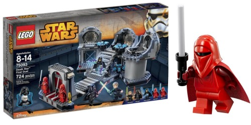 LEGO Star Wars Death Star Final Duel Building Kit ONLY $50.39 Shipped (Regularly $79.99)