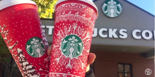 Select Starbucks Rewards Members: Free Handcrafted Beverage w/ ANY Purchase (12/9-12/11)