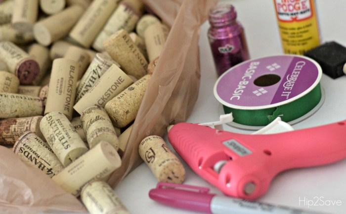 supplies-to-make-wine-cork-ornaments