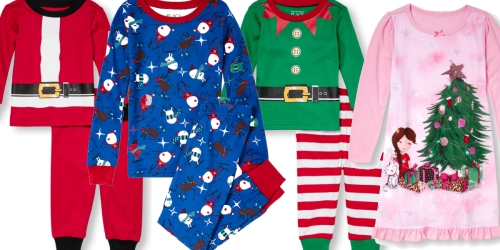 The Children's Place: Holiday Pajamas Starting at $7.47 Shipped (Regularly Up to $16.95)