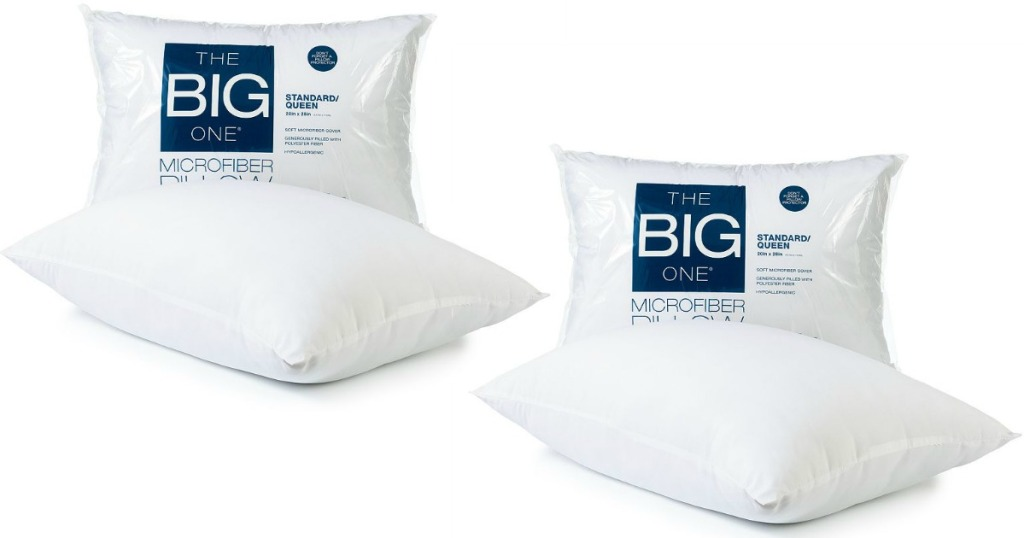 Kohl S Cardholders The Big One Microfiber Pillow Just 3 49