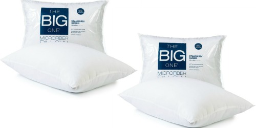 Kohl's: The Big One Queen/Standard Pillow ONLY $2.54 (Regularly $11.99)