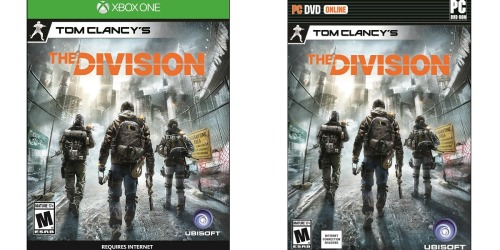 Amazon: Tom Clancy's: The Division For Xbox One and PC Only $9.99 (Regularly $59.99)