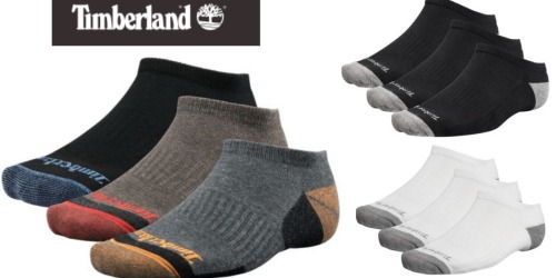Timberland: 30% Off Footwear & Clothing = No-Show Socks 3-Packs Only $8.33 Shipped