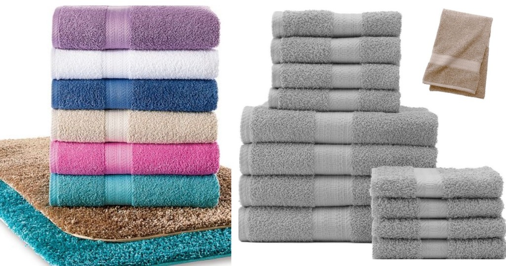 Kohl S The Big One Bath Towels Only 3 24 Bath Rugs Only 3 88