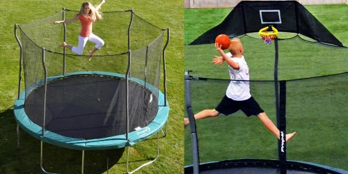 Kmart: 12′ Trampoline w/ Enclosure AND Basketball Hoop ONLY $149.99 ($399 Value)